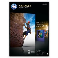 HP Advanced Glossy Photo Paper - Glossy photo paper - A4 (210 x 297 mm) - 25 sheet(s) a