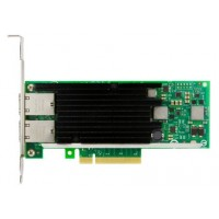 Intel X540-T2 - Network adapter - PCIe 2.0 x8 low profile - 10Gb Ethernet x 2 - for System x3100 M3, x3100 M5, x3250 M4, x35XX M4, x3650 M4 HD, x36XX M3, x3850 X6, x3950 X6 a