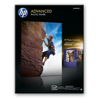 HP Advanced Glossy Photo Paper - Glossy photo paper - 130 x 180 mm - 25 sheet(s) a