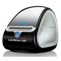 DYMO LabelWriter 450 Turbo. Label Printer. Compact size. Label, mail, and file smarter with proprietary DYMO Label v.8 Software. Prints up to 71 labels per minute, thermal printing technology, prints directly from Microsoft Office programmes. 600x300 dpi