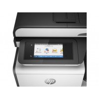 HP PageWide Pro 477dw - Multifunction printer - colour - ink-jet - Legal (216 x 356 mm) (original) - A4/Legal (media) - up to 55 ppm (copying) - up to 55 ppm (printing) - 500 sheets - 33.6 Kbps - USB 2.0, LAN, Wi-Fi(n), NFC, USB 2.0 host a