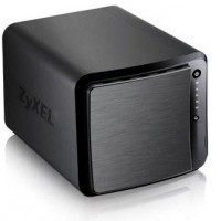 ZyXEL NAS542 - Personal cloud storage device - 4 bays - SATA 3Gb/s - RAID 0, 1, 5, 6, 10, JBOD, 5 hot spare - Gigabit Ethernet - iSCSI a