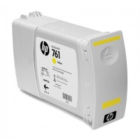 HP 761 - CM992A - 1 x Yellow - Ink cartridge - For DesignJet T7100, T7200 Production Printer a