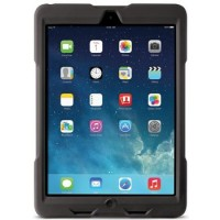 Kensington BlackBelt 1st Degree Rugged Case - Back cover for tablet - black - for Apple iPad Air 2 a