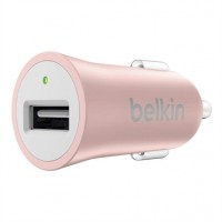 Belkin MIXIT Car Charger - Power adapter - car - 2.4 A ( USB (power only) ) - rose gold a