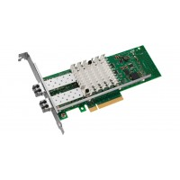 Intel Ethernet Converged Network Adapter X520-SR2 - Network adapter - PCIe 2.0 x8 low profile - 10GBase-SR x 2 a