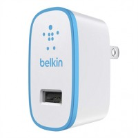 Belkin Mix-It single AC Wall charger 2.1amp in Blue a