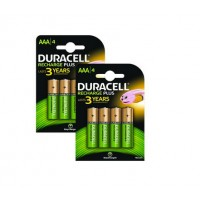 Duracell - Battery 4 x AAA type NiMH 750 mAh ( pack of 2 ) a