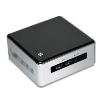 Intel Next Unit of Computing Kit NUC5i3MYHE - Barebone - mini PC - 1 x Core i3 5010U / 2.1 GHz - HD Graphics 5500 - GigE a