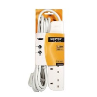 Belkin E-Series 4-Socket SurgeStrip, 3m cable a