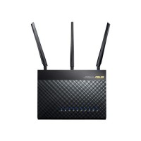 Wireless-AC1900 Dual-Band USB3.0 Gigabit Router802.11ac, 1300Mbps (5GHz)802.11n, 600 Mbps (2.4GHz)2.4Ghz/5Ghz con-current dualband ASUS AiCloud/AiRadar/VPN Server/USB printer Server / FTP server / Dual-core CPU a