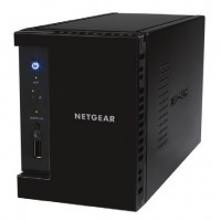 NETGEAR ReadyNAS 212 - NAS server - 2 bays - SATA 3Gb/s - RAID 0, 1 - Gigabit Ethernet - iSCSI a