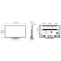 Philips 49HFL2839T - 49 Class - Professional Studio LED TV - hotel / hospitality - 1080p (Full HD) - black a