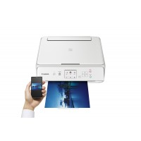 Canon PIXMA TS5051 - Multifunction printer - colour - ink-jet - 216 x 297 mm (original) - A4/Legal (media) - up to 12.6 ipm (printing) - 100 sheets - USB 2.0, Wi-Fi(n) a