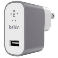 Belkin Premium MixIt Fast 2.4amp Mains Charger (3 Pin UK Plug) - Grey a