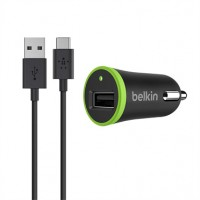 Belkin Universal Car Charger - Power adapter - car / USB - 10 Watt - 2.1 A ( USB (power only) ) - black a