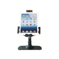 "NewStar TABLET-D200BLACK - Stand for tablet - lockable - black - screen size: 9.7 - 10.1"" - desktop stand a"