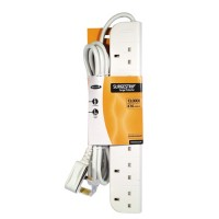 Belkin E-Series 6-Socket SurgeStrip, 3m cable a
