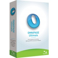 Nuance OmniPage Ultimate a