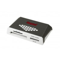 Kingston Technology USB 3.0 High-Speed Media Reader USB 3.0 Grey,White card reader a