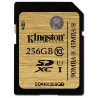 Kingston Technology SDXC Class 10 UHS-I 256GB 256GB SDXC Flash Class 10 memory card a