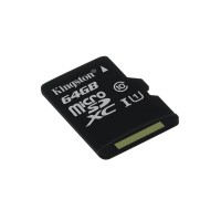 Kingston Technology microSDXC Class 10 UHS-I Card 64GB 64GB MicroSDXC UHS-I Class 10 memory card a