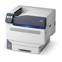 OKI C911dn - Printer - colour - Duplex - LED - A3/Ledger - 1200 x 1200 dpi - up to 50 ppm (mono) / up to 50 ppm (colour) - capacity: 830 sheets - USB 2.0, Gigabit LAN a