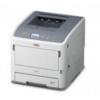 OKI B731dnw - Printer - monochrome - Duplex - LED - A4 - 1200 x 1200 dpi - up to 52 ppm - capacity: 630 sheets - USB 2.0, Gigabit LAN, Wi-Fi(n), USB host a