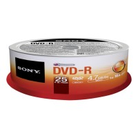 DVD-R 4.7GB 25-SPINDLE b