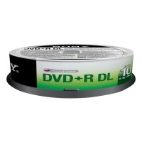 DVD+R D.LAYER SPINDLE 10PCS b
