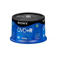 DVD+R  16X  SPINDLE-BULK  50PCS a
