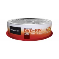 DVD-RW (REWR.) 4X SPINDLE 25PCS a