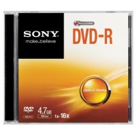DVD-R 16X SLIM CASE a