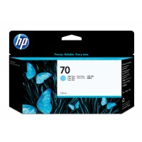 HP 70 130 ML LIGHT CYAN INK a