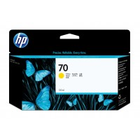 HP 70 130 ML YELLOW INK a