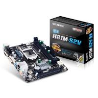 Gigabyte GA-H81M-S2V Intel H81 Socket H3 (LGA 1150) Micro ATX motherboard a