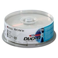 DVD+R  16X  SPINDLE-BULK 25 PCS a