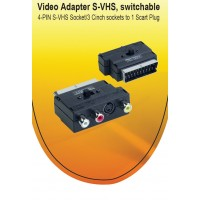 SCART TO 3XCHINCH/S-VIDEO a