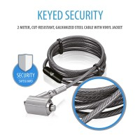 CABLE LOCK KEYED PREMIUM 2M a