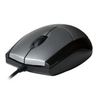 V7 MOUSE OPTICAL BLK/SIL RETAIL a
