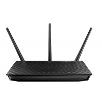 Asus RT-AC66u 802.11ac Dual-Band Wireless-AC1750 Gigabit Router, 90-IGY7002U00-APA0- a