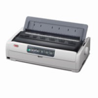 OKI Microline 5721eco - Printer - monochrome - dot-matrix - 406 mm (width) - 9 pin - up to 700 char/sec - parallel, USB a