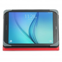 Targus Safe Fit - Flip cover for tablet - polyurethane - red - for Samsung Galaxy Tab A (9.7 in) a