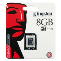 Kingston memory 8GB microSDHC Class 4 Flash Card Single Pack w/o Adapter a