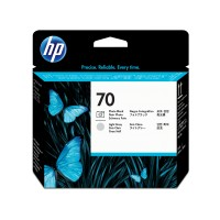 HP 70 PHOTO BK & LIGHT GREY PRI a