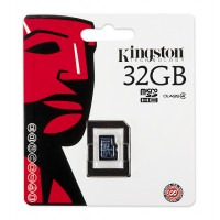 Kingston memory 32GB microSDHC Class 4 Flash Card Single Pack without adapter a