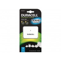 DURACELL TWIN USBTRAVEL CHAR WH a