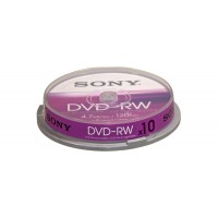 DVD-RW (REWR.) 4X SPINDLE 10PCS a