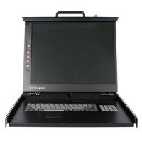 1U 19  RACKMOUNT LCD CONSOLE a