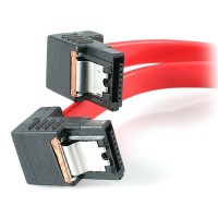 18  LATCHING SATA CABLE M/M a